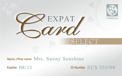 ExpatCardSelect - Special Events, Membershipcard, Lifestyle